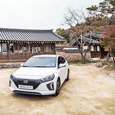 Cozy late autumn is lying by IONIQ hybrid - 고즈넉한 늦가을에 만난 아이오닉 하이브리드 - #cozy #lateautumn #winteriscoming #eco #greatday #GODANG #cafe #Namyangju #Korea #driving #travel #carsofinstagram #IONIQ #hybrid #Hyundai
