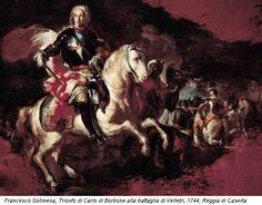 Francesco Solimena, Trionfo di Carlo di Borbone alla battaglia di Velletri, 1744, Reggia di Caserta