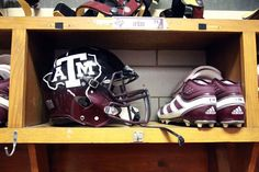 Few institutions treasure their traditions the way Texas A does and for more than 80 years the Aggie football team's uniform's primary color on game day has been maroon or white. However, today against Mississippi State the Aggies will wear new uniform- Love the Helmet!  Beat the Hell out of Mississippi State