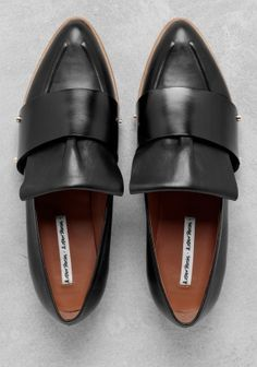 Love these pointed flats from & other stories