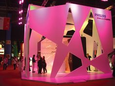 Stands by Diego Lara at Coroflot.com #exhibitbooth #tradeshow #graphics