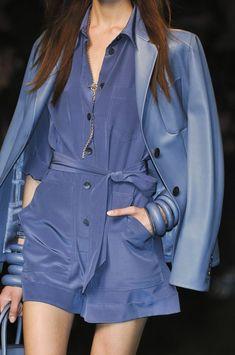 Hermès blue. | Runway inspiration.