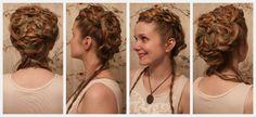 "Cersei Lannister Inspired ""Purple Wedding"" Hair."