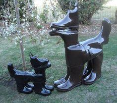 Gum Boot Dog Art
