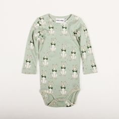 mini rodini RABBIT L/S BODY