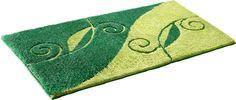 Details:  Floral Gemustert, Hoch-Tief-Effekt,  Qualität:  1,2 kg/m² Gesamtgewicht, 22 mm Gesamthöhe, Waschbar bei 40°C,  Flormaterial:  100 % Polyacryl,  Wissenswertes:  Die halbrunde Matte eignet sich auch ideal als Duschvorleger, Das 2-tlg. Set besteht aus einer Matte 55/50cm und einem WC-Deckel-Bezug (nach Wunsch Matte mit Auschnitt für Stand-WC oder ohne für Hänge-WC),  ...