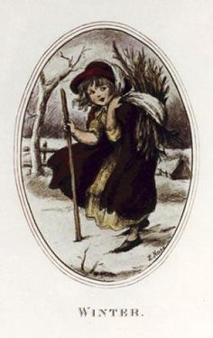 Winter - Hope (Restrike Etching) by Robert Hope - art print from King & McGaw