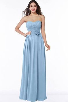 bridesmaid dress blue