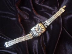 Silver Bracelet and Ebano.