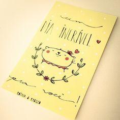 { Rotina e Rabisco } - Bom dia sexta-feira! Que o dia de vocês seja incrível ❤um beijinho!!! #rotinaerabisco