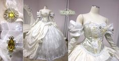 Sarah's ballgown from Labyrinth by firefly-path.net