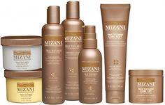 {Mizani True Textures Curl Products: For styling curly hair}