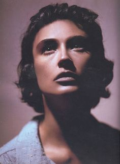 Demi Moore as Ingrid Bergman ~ Face Forward by Kevyn Aucoin, 2000