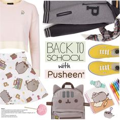 How To Wear #PVxPusheen Outfit Idea 2017 - Fashion Trends Ready To Wear For Plus Size, Curvy Women Over 20, 30, 40, 50