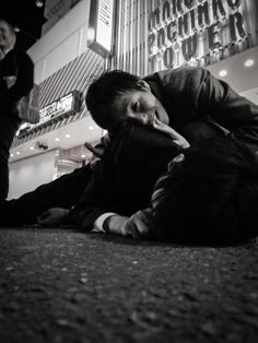 i took this picture of a salary man passed out drunk on the street of standard business. Tokyo Night, Shibuya Tokyo, My Life, Cold, Japan, Street, Business, Amazing, Pictures