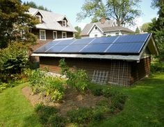 Solar Projects - traditional - Garage And Shed - New York - Sunrise Solar Solutions, LLC