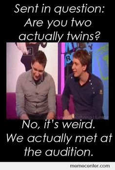 fred and george haha