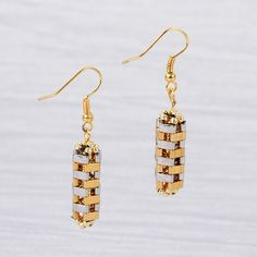 FREE Project Download : Tila earrings
