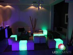 LED MOMENTS en cumple de 60 años en Salon Piccolino - #SIN EDAD PARA DARLE COLOR A TU EVENTO