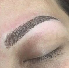 Microblading eyebrows 3D