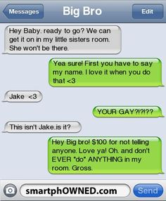 BRO - Other - Autocorrect Fails and Funny Text Messages - SmartphOWNED