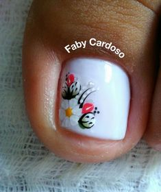 56 Modelos de Unhas de Pés e Mãos combinadas! Perfeito Pink Nail Art, Toe Nail Art, Toe Nails, Pedicure Designs, Toe Nail Designs, Hair Skin Nails, Manicure And Pedicure, Nails Inspiration, Beauty Nails