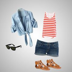 Relaxing Summer Day, created by jmcgee330 on Polyvore