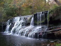 Graves Falls in Blount County.