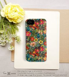 I don't need this or have the phone for it but this is pretty.    Flower iPhone 5 case Flower iPhone 4 case iPhone 4s by TonCase, $25.99