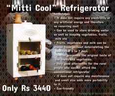 Refrigeration without electricity or energy!