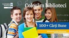 Comunitatea Locala RO100 Craiova : 100+ Carti Bune - Doneaza si coloreaza biblioteci!