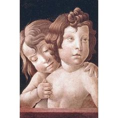 """Buyenlarge 'Christ and St John' by Giovani Bellini Painting Print Size: 36"""" H x 24"""" W"""