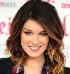 medium hairstyles with bangs ombre - Google Search