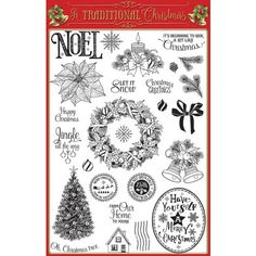 Creative Stamping 35 now on sale - FREE Traditional Christmas stamp set