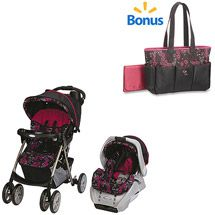 Walmart: Graco Spree Travel System w/BONUS Ariel Diaper Bag Value Bundle Love this for a girl!