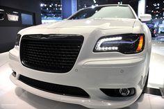2012 Chrysler 300 SRT8 (White)