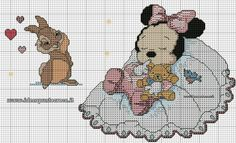 Minnie Mouse x-stitch