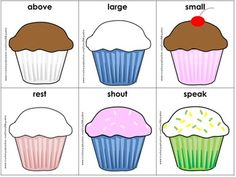 Free! Cupcake Synonyms --A synonyms matching activity...18 pairs!