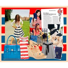stripes are stars, created by croquette on Polyvore