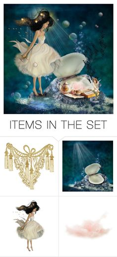"""""""Oceanic Tea Party"""" by paulid ❤ liked on Polyvore featuring art"""