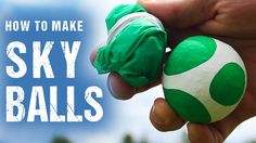 Transform rice, balloons, and a plastic tablecloth parachute, into a cool set of high flying Sky Balls, that will add a whole new dimension to the fun you ca...