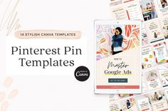 Create eye-catching pin designs and explode your blog with organic traffic from Pinterest. $16 #sponsored #ad Email Marketing, Social Media Marketing, Pinterest Pin, Website Themes, How To Start A Blog, Templates, Creative, Stencils, Template