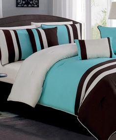 Blue Williamsburg Comforter Set