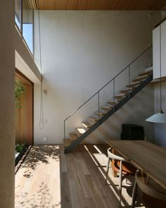 Home Stairs Design, Interior Stairs, House Design, Future House, My House, Casa Patio, Modern Stairs, Cafe Interior Design, House Stairs