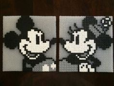 steamboat willie perler - Google Search