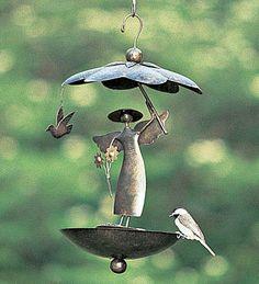 Garden Angel Bird Feeder