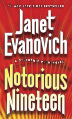 Notorious Nineteen: A Stephanie Plum Novel  by Janet Evanovich ($5.38), http://www.amazon.com/Notorious-Nineteen-A-Stephanie-Plum-Novel/dp/B0086N7AV0%3FSubscriptionId%3D%26tag%3Dhpb4-20%26linkCode%3Dxm2%26camp%3D1789%26creative%3D390957%26creativeASIN%3DB0086N7AV0&rpid=bd1391699858/Notorious_Nineteen_A_Stephanie_Plum_Novel