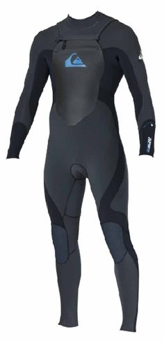 Quiksilver Syncro 5 3 Chest Zip Winter Wetsuit 2013 - Black Mens Winter c639fbc0b