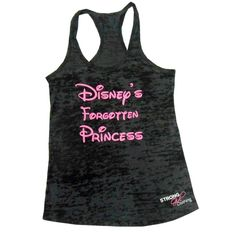 Pin for Later: 33 Pieces of Disney Workout Gear That'll Get You Pumped . . . Princess Style  Disney's Lost Princess Tank ($22)