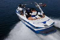 The Award-Winning Malibu 23 LSV wakeboarding boat dominates on the water, and in the market. It's not only our best-selling boat — it's also the best-selling wakeboard boat ever. Wakeboarding, Malibu Boats, Lightweight Trailers, Light Trailer, Wakeboard Boats, Ski Boats, Small Suv, Boats For Sale, Lake Life